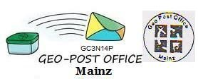 GC3N14P OCFC04│Geo Post Office - Mainz